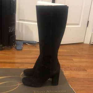 Enzo Angiolini heeled boots in great condition